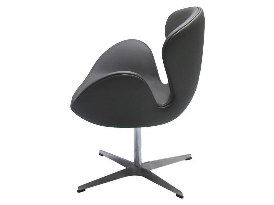 Bradexhome кресло  (серый) Swan Chair