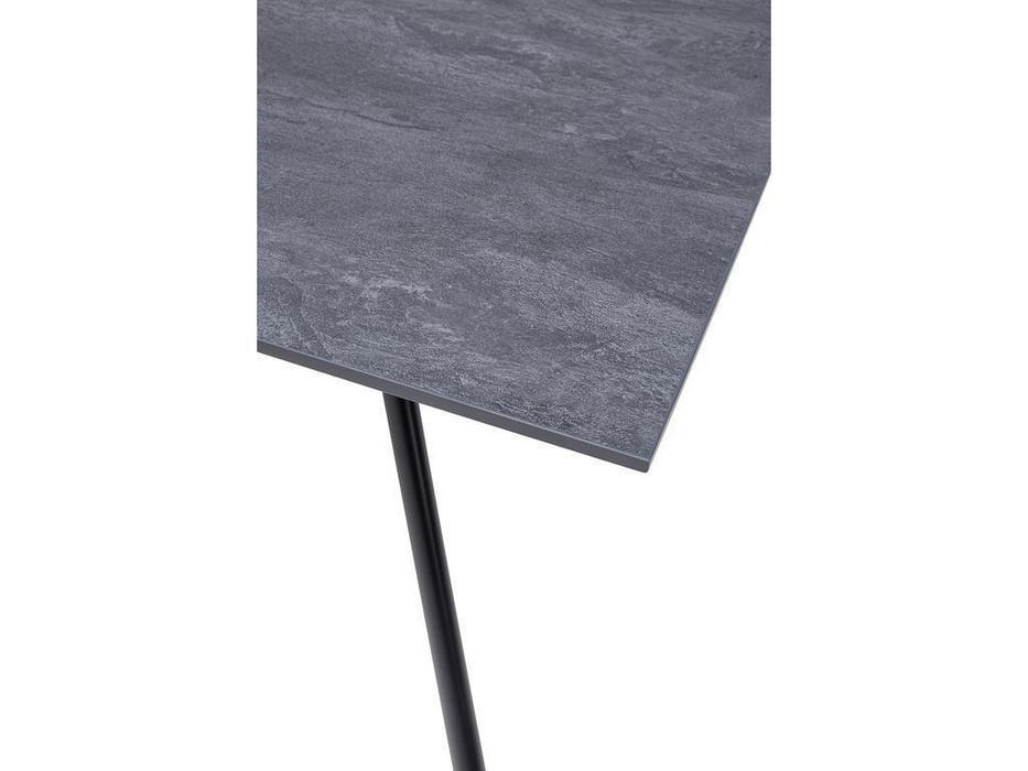 Bradex стол обеденный  (темно-серый, черный) Marco