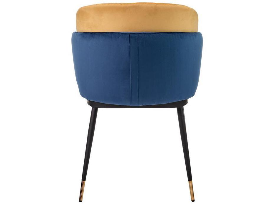 Bradex стул  (синий горчичный) Peki