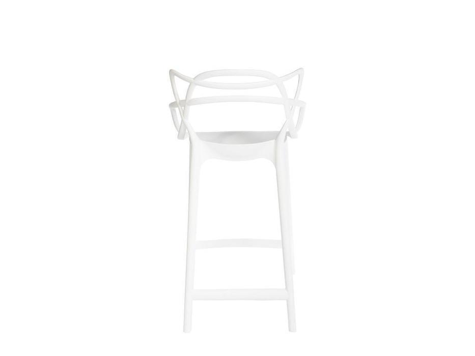 Bradex стул барный полубарный (белый) Masters