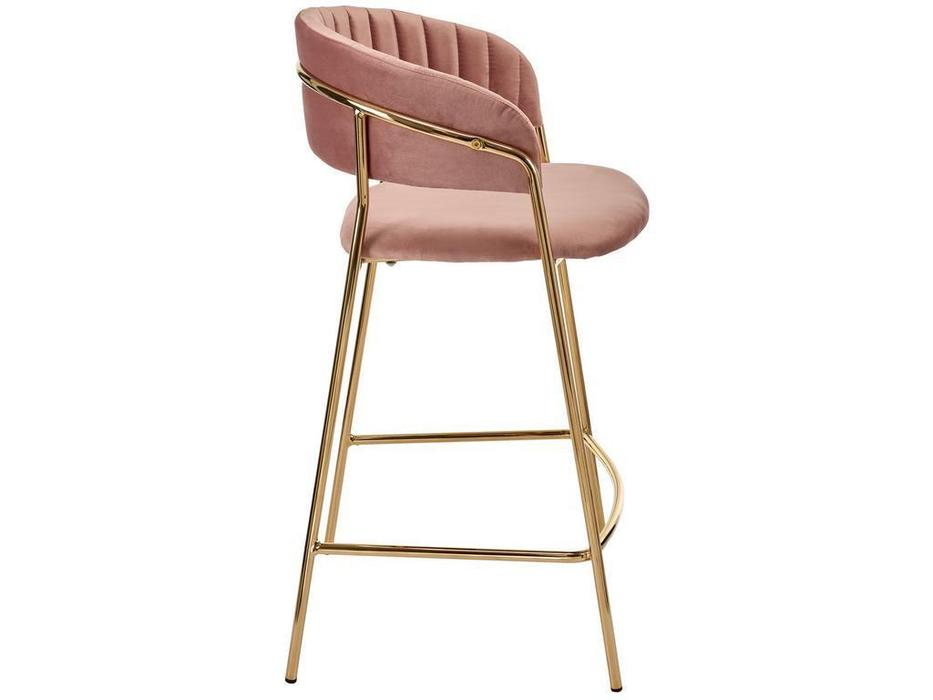 Bradex стул барный полубарный (пудровый) Turin