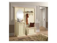 Camelgroup зеркало навесное овальное (ingressi avorio) Siena