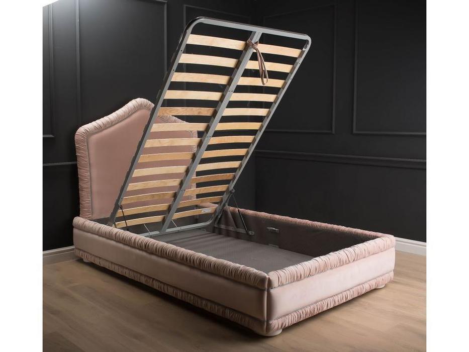 TheBed кровать двуспальная с подъемным механизмом 140х200 (ткань) Pink Dream