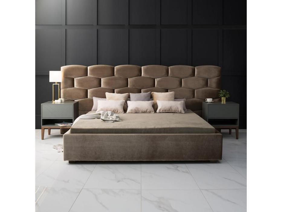 TheBed кровать двуспальная 180х200 (ткань) Honeycomb