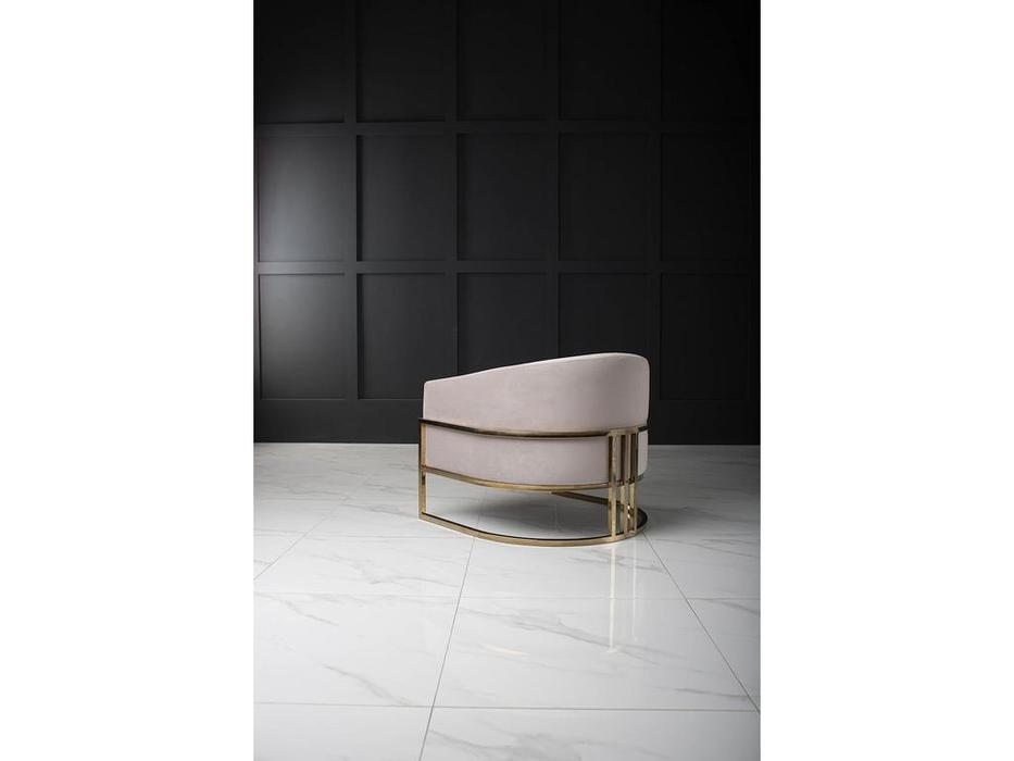 TheBed кресло  (ткань) Monika Gold