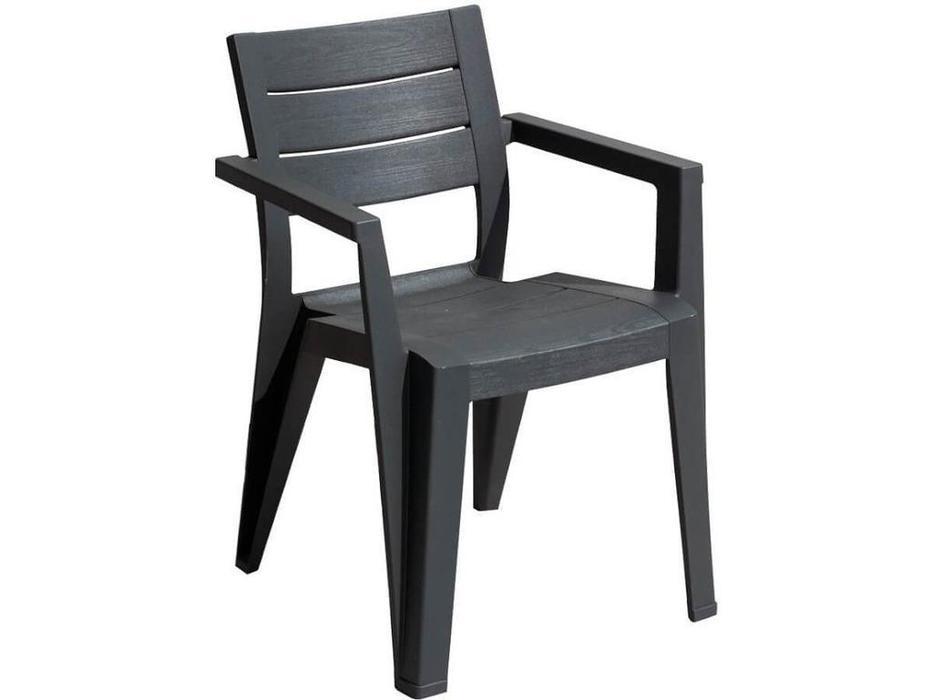 Keter стул садовый  (графит) Julie dining chair
