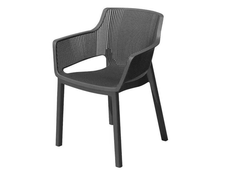 Keter стул садовый  (графит) Elisa chair
