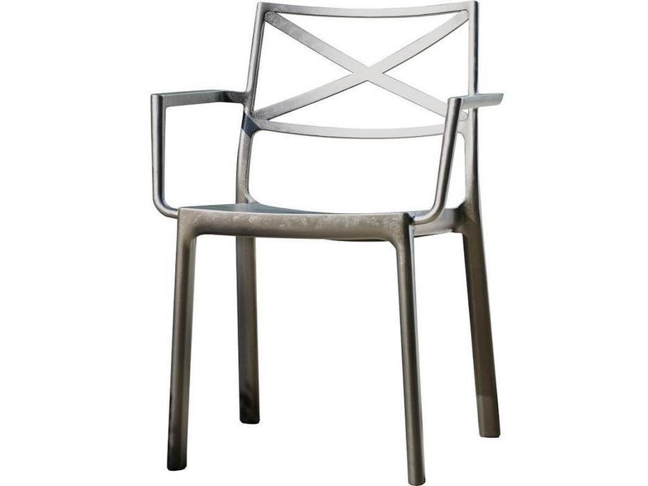 Keter стул садовый  (графит) Metalix Armrest