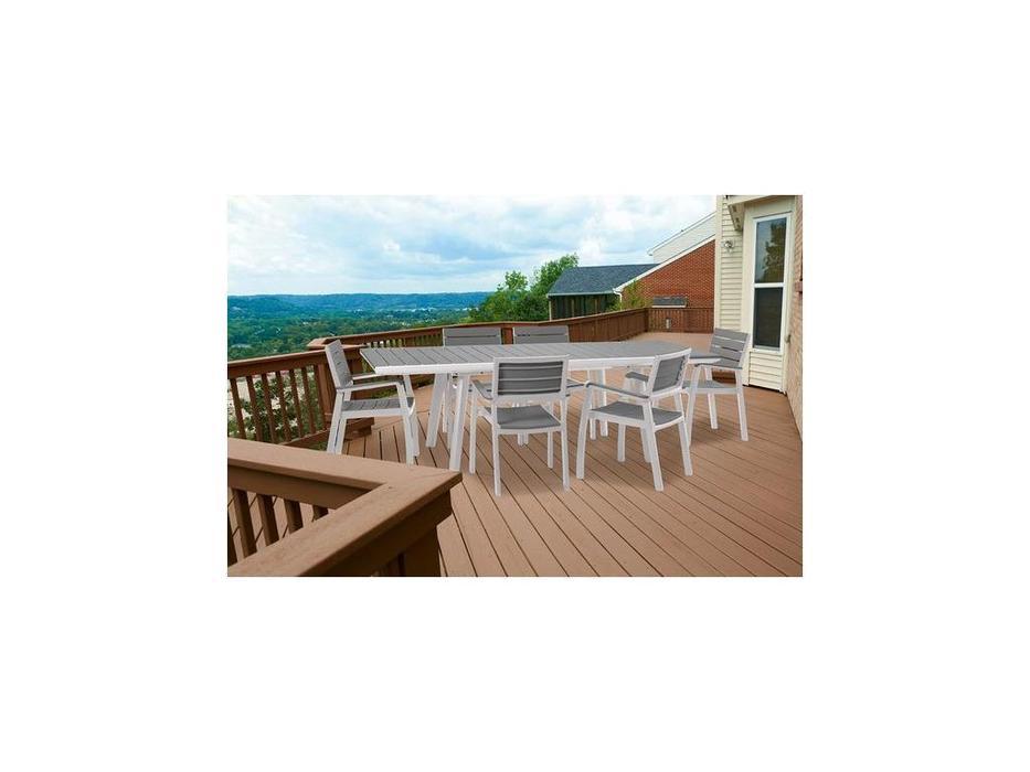 Keter садовый стол раскладной (серый) Harmony Extendable