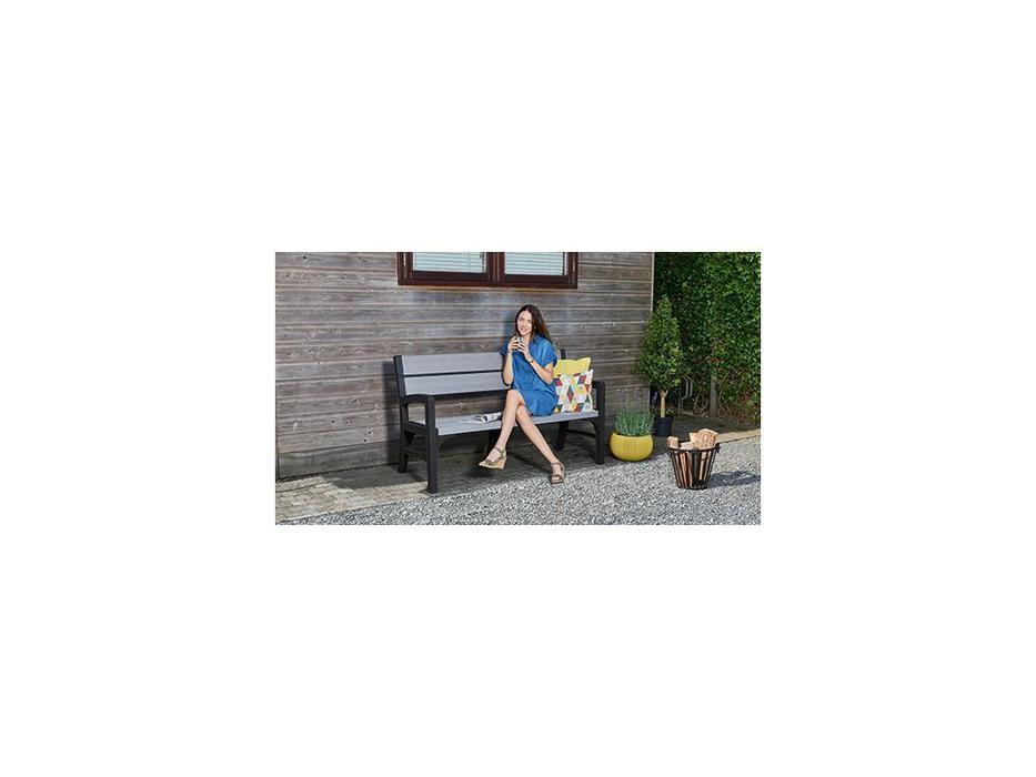 Keter скамья садовая  (коричневый) Montero Triple