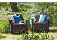 5246790 садовое кресло Keter: Corfu duo set