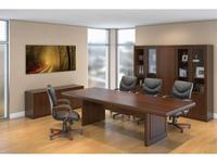 Blue Line комплект мебели для переговорной (темный орех) Princeton