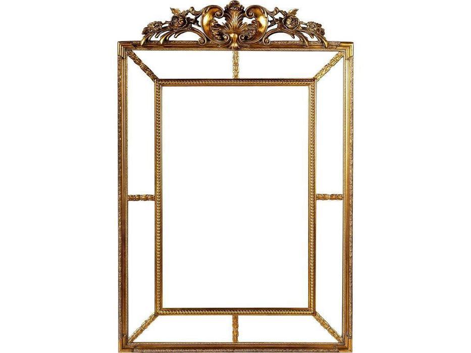 Hermitage зеркало навесное  (античное золото) Ланкастер