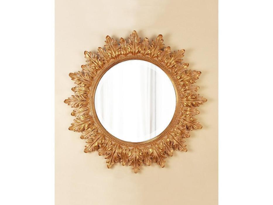 Hermitage зеркало навесное  (золото) Альба