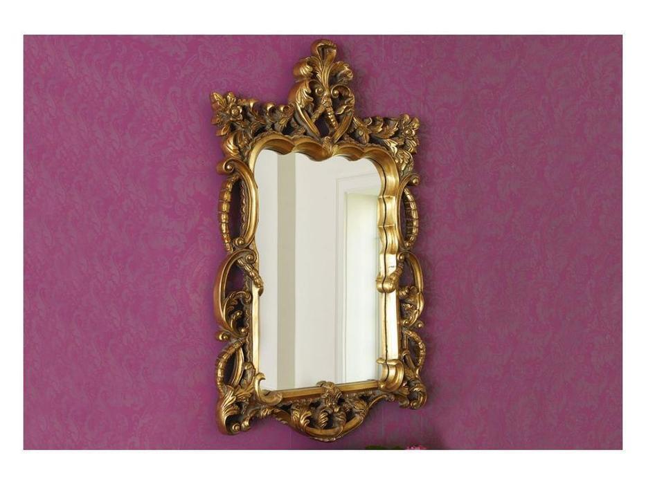 Hermitage зеркало навесное  (золото) Беатриче