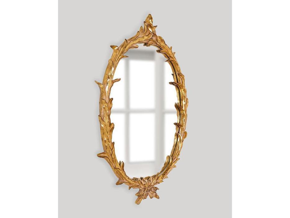 Hermitage зеркало навесное  (золото) Буа