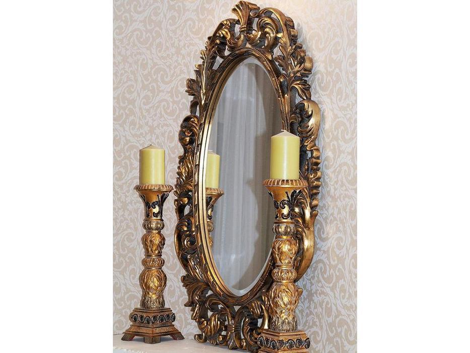 Hermitage зеркало навесное  (золото) Гойя