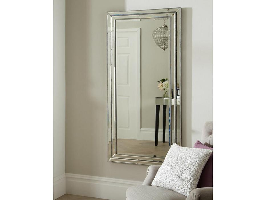 Hermitage зеркало напольное  (серебро) Арт Деко