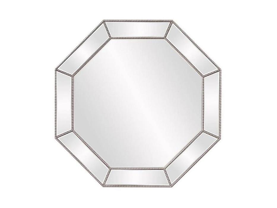 Hermitage зеркало навесное в раме (серебро) Грэм