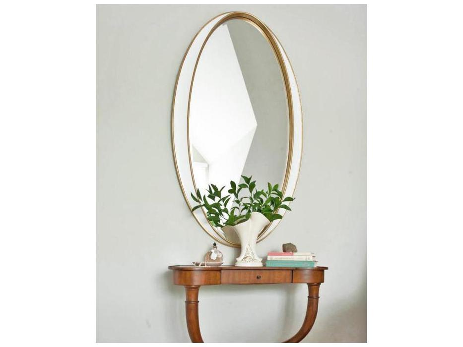 Hermitage зеркало навесное в раме (белый) Дита