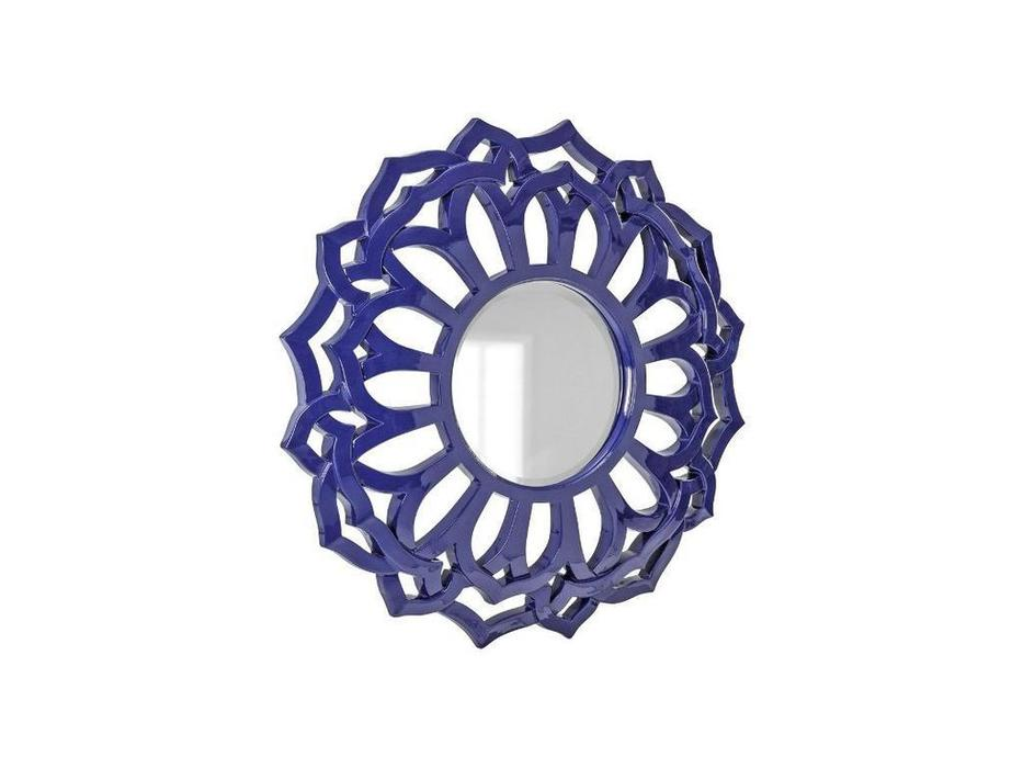 Hermitage зеркало навесное в раме (серебро) Коул