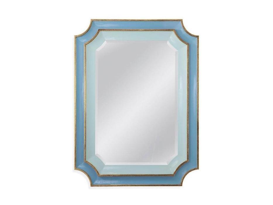 Hermitage зеркало навесное в раме (серебро) Кьяра