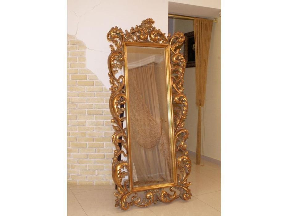 Hermitage зеркало напольное в раме (золото) Меривейл