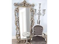 Hermitage зеркало напольное в раме (серебро) Меривейл