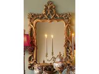 Hermitage зеркало навесное в раме (золото) Беатриче