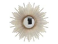 Hermitage зеркало навесное в раме (золото) Брук
