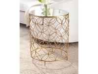 Hermitage столик приставной  (золото) Такома